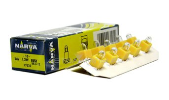 BAX 24V-1,2W (B8,0-12) Yellow (EBS-R4) 17022